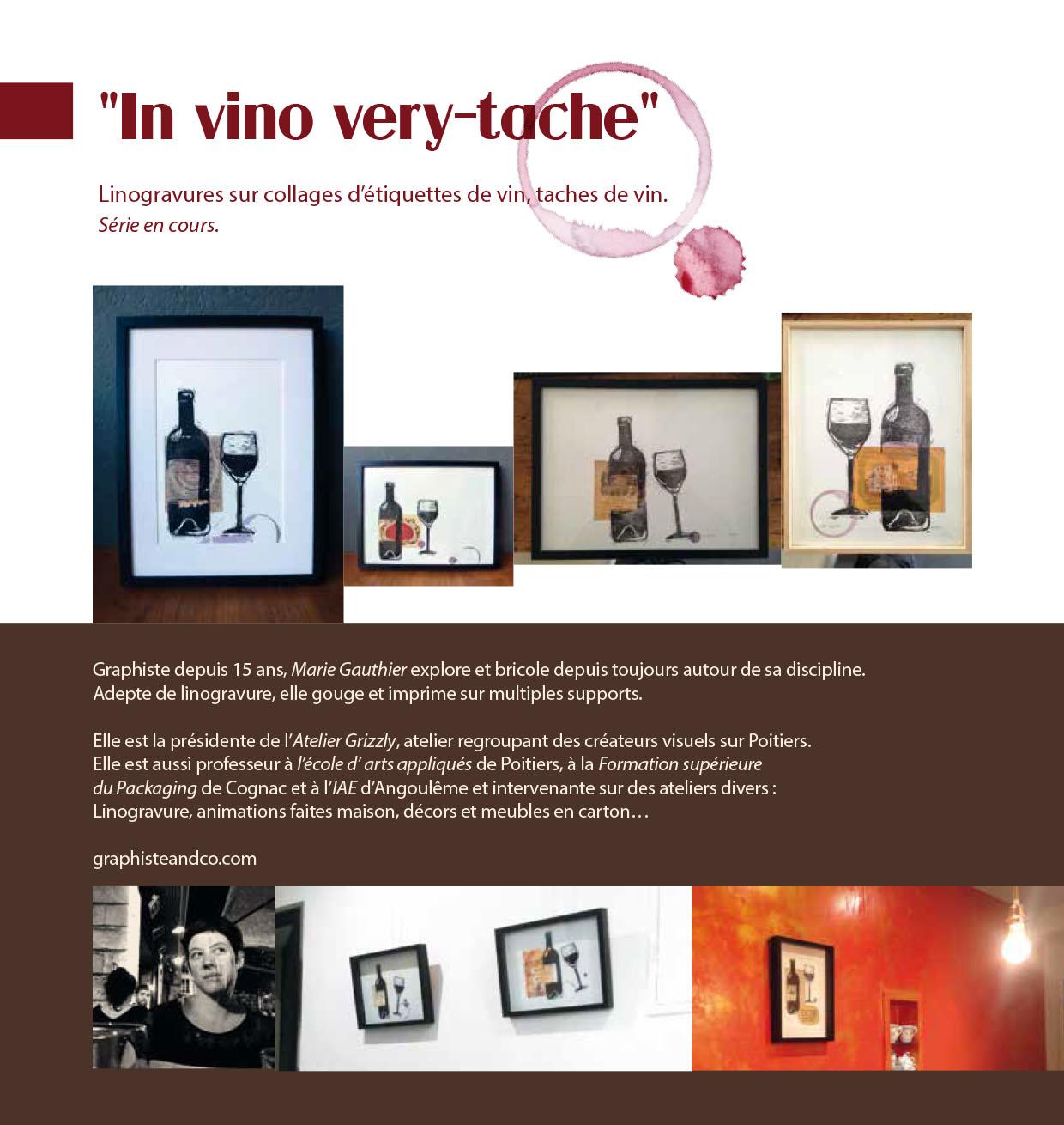 in vino very tache